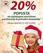 Muller akcija -20% parfumerija i prirodna kozmetika