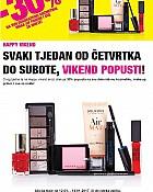 Bipa vikend akcija -30% dekorativna kozmetika, make up
