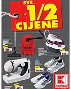 Kaufland katalog Sve u pola cijene do 18.1.