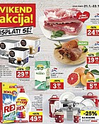 Konzum vikend akcija do 22.1.