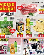Konzum vikend akcija do 29.1.