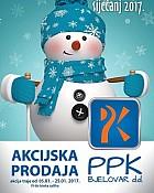 PPK Bjelovar katalog siječanj 2017