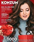 Konzum katalog Ljepota i njega veljača 2017