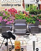 Konzum katalog Uređenje vrta 2017