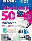 Kozmo vikend akcija do -50% na muške i ženske mirise