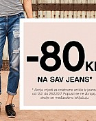 Orsay kupon 80kn na sav jeans