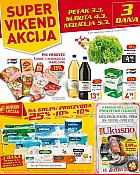 Billa vikend akcija do 5.3.