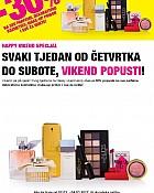 Bipa vikend akcija -30% parfemi, kozmetika