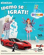 Konzum katalog Dream factory Igračke