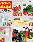 Konzum vikend akcija do 2.4.