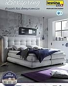 Lesnina katalog Boxspring kreveti 2017