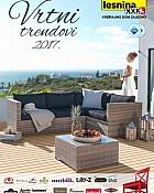 Lesnina katalog Vrtni namještaj 2017
