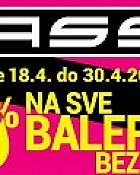 Mass katalog Akcija balerinke -50%