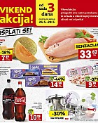 Konzum vikend akcija do 28.5.