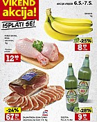 Konzum vikend akcija do 7.5.