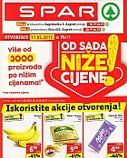 Spar katalog Otvorenje Zagrebačka i Vrapče