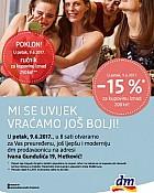 DM katalog Metković otvorenje