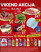 Konzum vikend akcija do 23.7.
