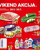 Konzum vikend akcija do 30.7.