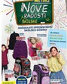 Metro katalog Nove školske radosti 2017