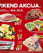 Konzum vikend akcija do 20.8.