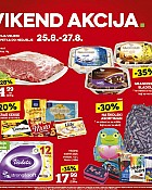 Konzum vikend akcija do 27.8.
