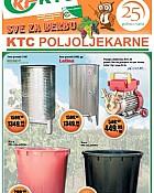 KTC katalog Poljoljekarne do 7.9.