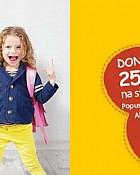 Muller kupon -25% na školske torbe i ruksake