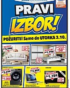 Harvey Norman katalog Pravi izbor do 3.10.
