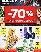 Konzum katalog -70% popusta na drugi proizvod