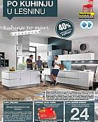 Lesnina katalog Kuhinje do 25.9.