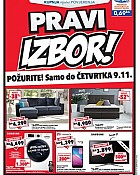 Harvey Norman katalog Pravi izbor do 9.11.
