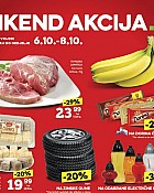 Konzum vikend akcija do 8.10.