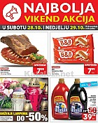 Plodine vikend akcija do 29.10.