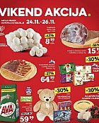 Konzum vikend akcija do 26.11.