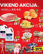 Konzum vikend akcija do 5.11.