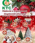 KTC katalog Božićni ukrasi