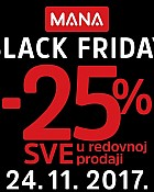 Mana akcija Black Friday