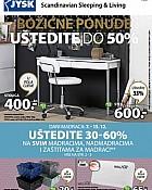 JYSK katalog Božićne ponude do 20.12.