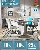 Lesnina katalog Ideje za uređenje prosinac 2017
