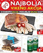 Plodine vikend akcija do 24.12.