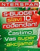 Interspar katalog S-Budget siječanj 2018
