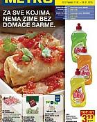 Metro katalog prehrana Osijek Varaždin do 24.1.