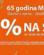Muller akcija popust -10% na sve
