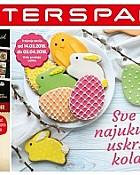 Interspar katalog Sve za uskršnje kolače 2018