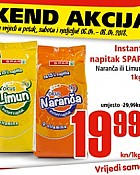 Interspar vikend akcija do 8.4.