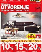 Lesnina katalog Otvorenje Pula