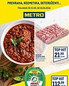 Metro katalog prehrana do 16.5.