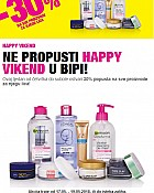 Bipa vikend akcija do 19.5.