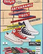 Hervis katalog Zatvaranje radi preuređenja City Center Zagreb